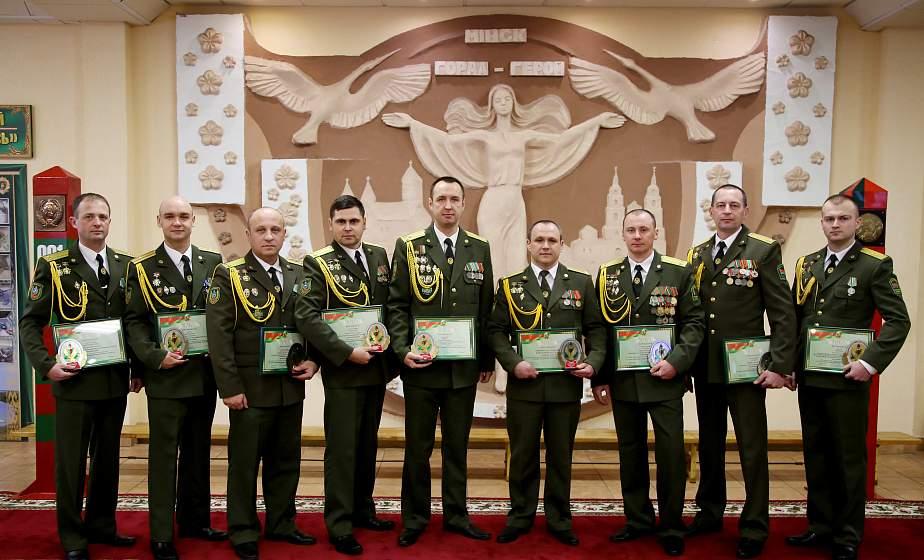 Гродненская пограничная группа признана лучшей в Беларуси по итогам ушедшего года
