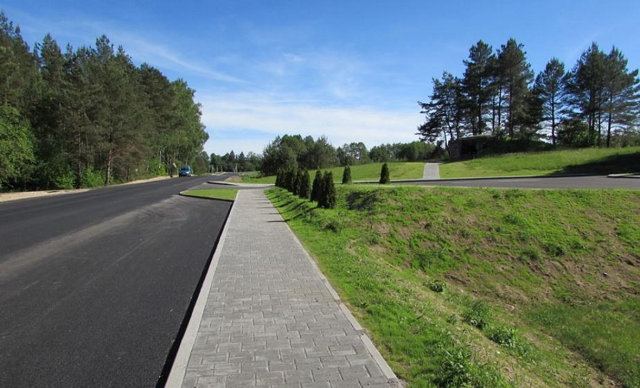 Дорогу на Августовский канал отремонтировали