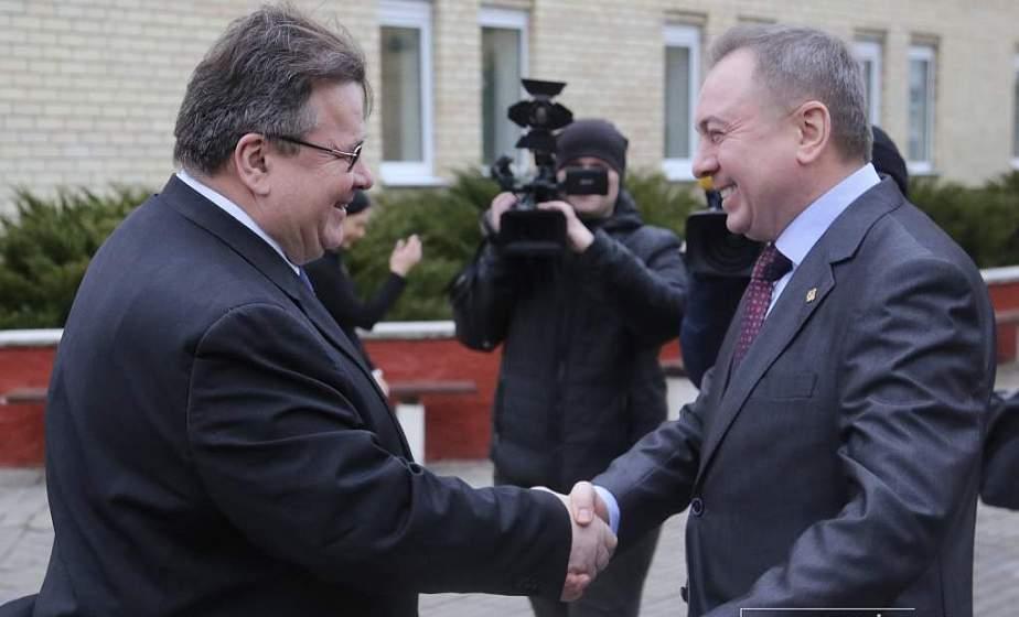 В приоритете конструктивный подход сотрудничества. Главы министерств иностранных дел Беларуси и Литвы провели встречу в Островецком районе (Будет дополнено)