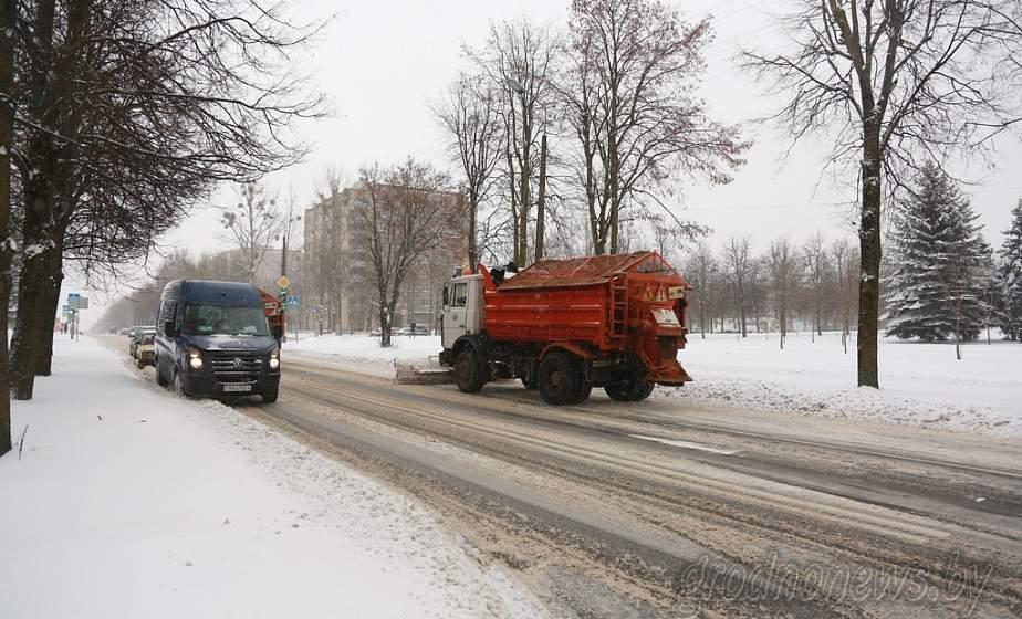 ГАИ Гродно: не паркуйте машины вблизи дороги – это мешает работе снегоуборочной техники. В Беларусь приходит циклон Ларс