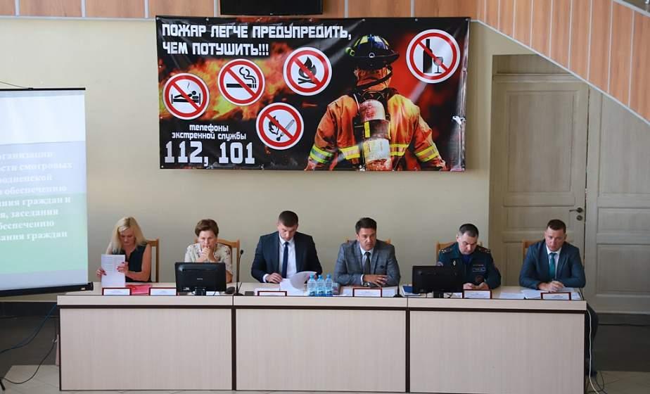 Предотвращение гибели людей на пожарах и работа смотровых комиссий. Семинар-совещание по обеспечению безопасных условий проживания граждан прошел в Вороновском районе