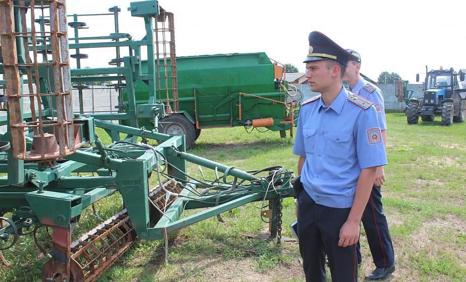 В Гродненской области милиция продолжает проводить проверки сельскохозяйственных предприятий