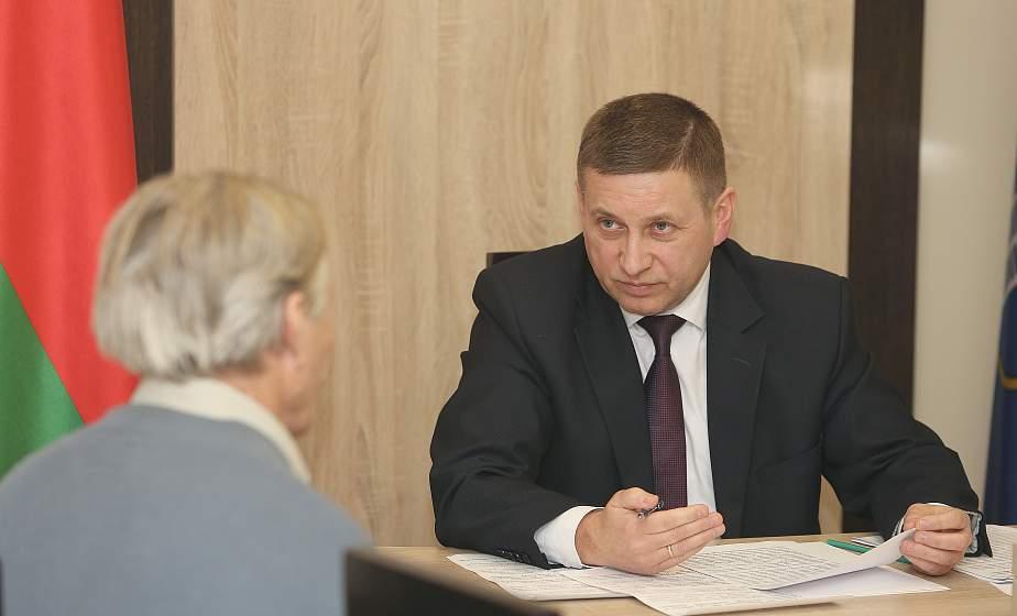 Иван Лавринович: «Решения по вопросам граждан на местах должны приниматься оперативно»