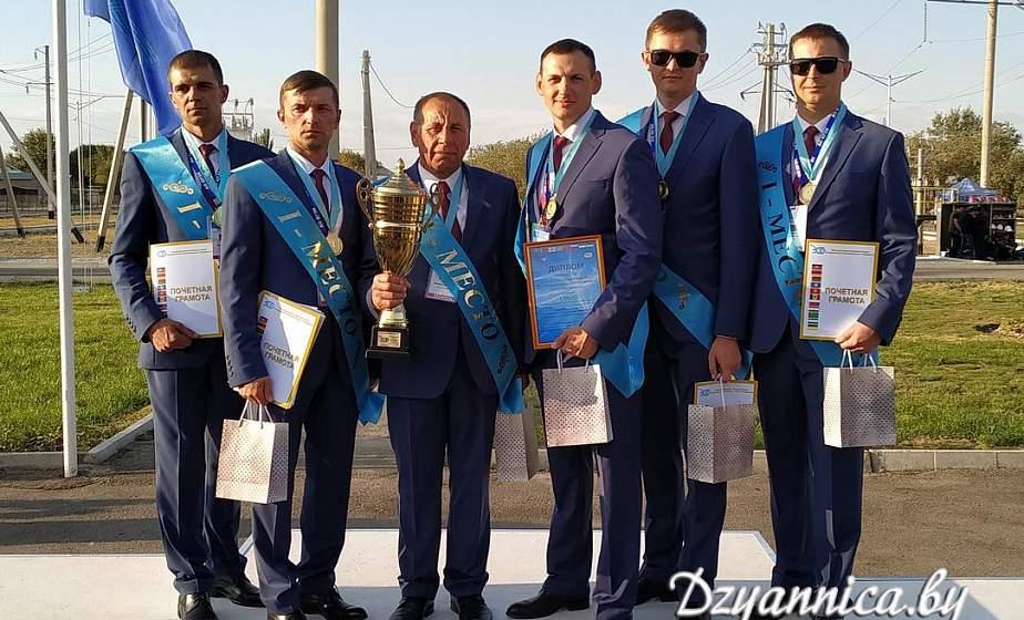 Бригада Щучинского РЭС РУП «Гродноэнерго», представлявшая белорусскую энергосистему на международных соревнованиях, заняла 1 место