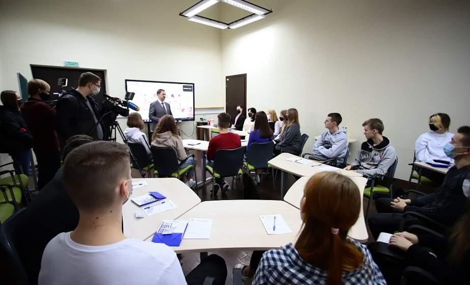 Мультимедийные технологии, тренинги по ЦТ и спикеры в онлайне. PROF-каникулы стартовали в ГрГУ имени Янки Купалы