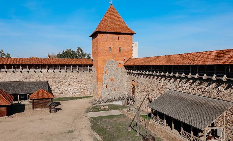 Лидский замок в нынешнем году бьет рекорды по посещаемости