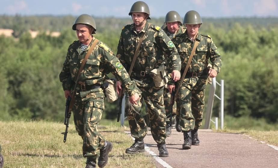 Фотофакт: На Гожском полигоне прошли комплексные оперативно-тактические учения с Гродненской пограничной группой