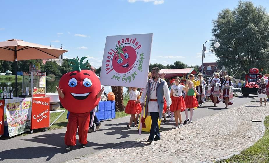 Синьор Помидор, мастер-классы и народная дегустация: в Ивье настоящий «помидорный бум»
