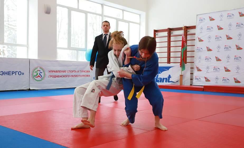 Броски, удержания и бои на татами. В Гродно состоялись Олимпийские дни молодежи