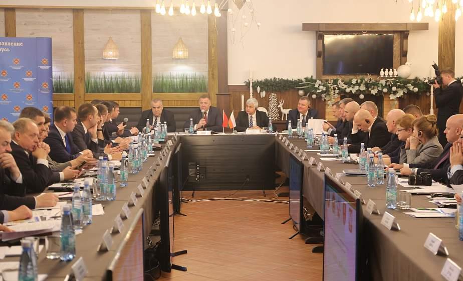 В Лиде обсудили вопросы безопасности приграничных регионов Беларуси и Польши