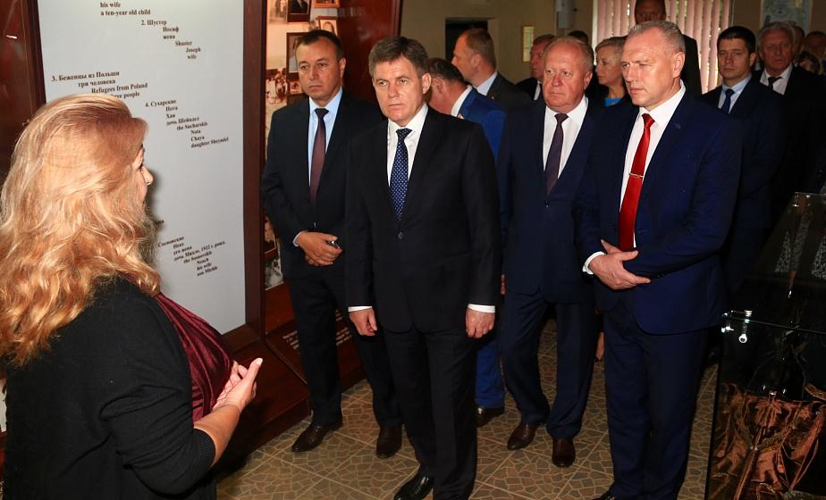 Заместитель премьер-министра Беларуси Игорь Петришенко провел заседание Межведомственного экспертно-координационного совета по туризму в Новогрудском районе (+видео)