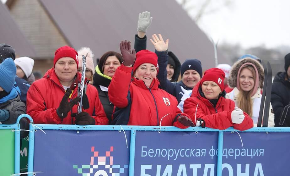 Снежные километры азарта. Самых спортивных руководителей региона определила «Принеманская лыжня-2021» в Новогрудке