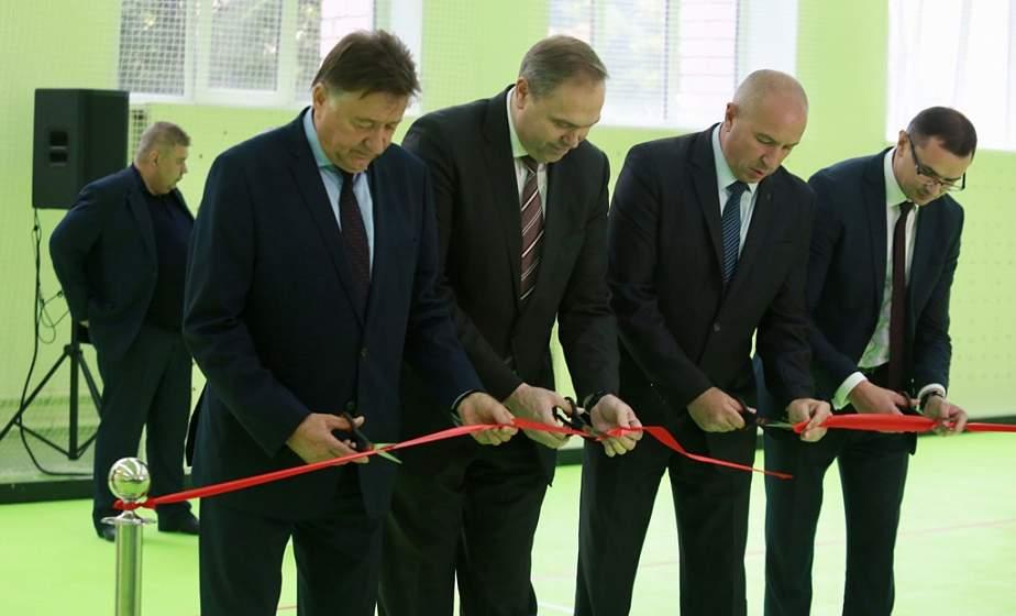 Первый в области специализированный зал для индор-хоккея открыли в Гродно