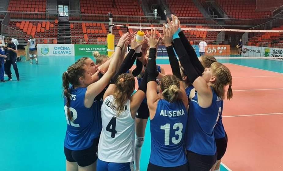 Женская молодежная (U-19) сборная по волейболу завоевала бронзовые медали чемпионата Европы. В составе команды и две гродненки