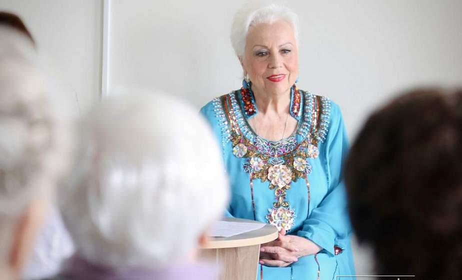 В Гродно прошла встреча с участницей вокального проекта на НТВ «Ты супер! 60+» Галиной Качаловой