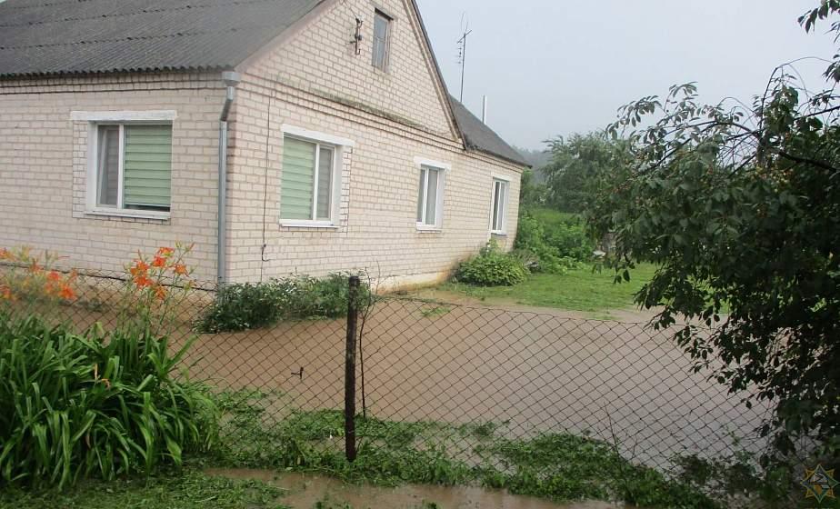 Упавшие деревья и подтопленные дома. Какие разрушения на Гродненщину принесла стихия