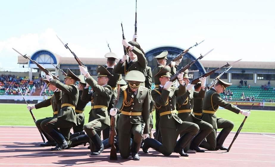 Пополнить ряды курсантов военного факультета приглашает ГрГУ имени Янки Купалы