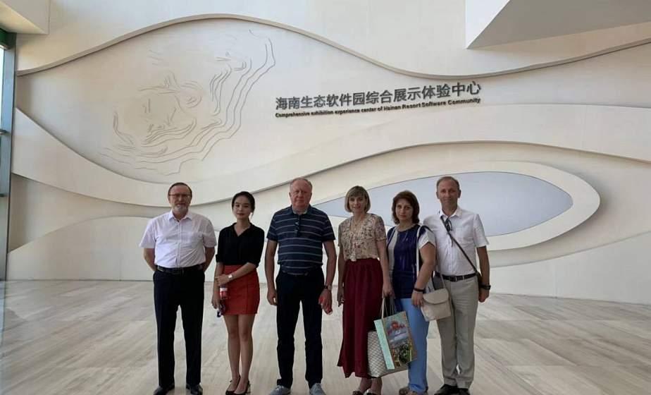 IT-сферу Гродненщины представили в парке высоких технологий китайского города Хайкоу