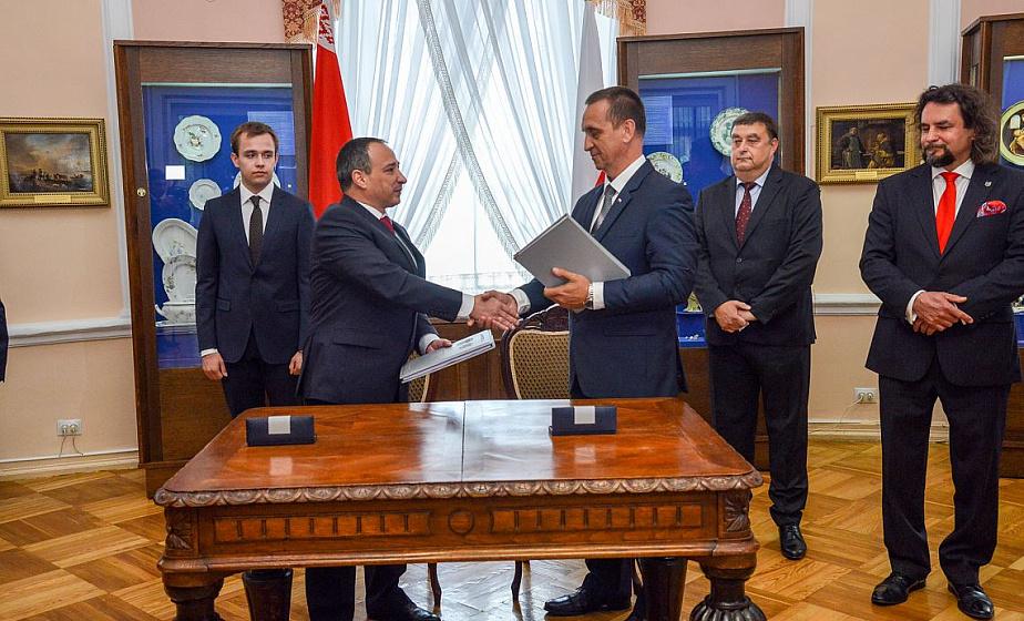 Паспорт для границы. В Гродно подписан заключительный протокол проверки прохождения водных участков на белорусско-польской границе