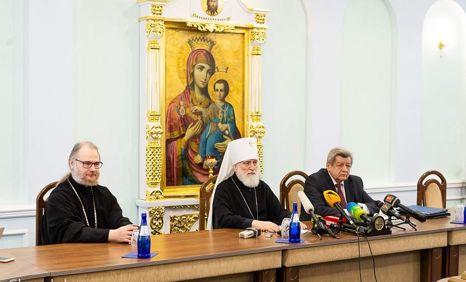 В Минске состоялась пресс-конференция «Коронавирус как вызов: ответ Белорусской Православной Церкви»