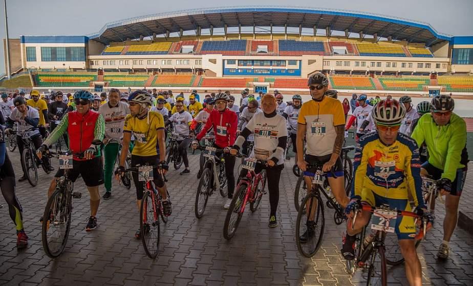 Два города, 42 километра и 3 часа: в Гродно дан старт международному велопробегу