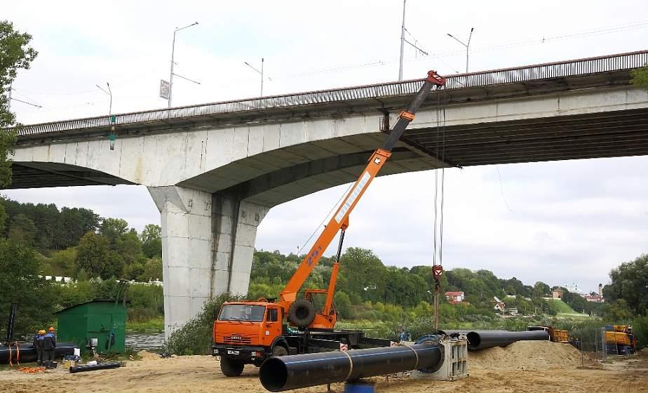 На 3 метра под дном Немана. «Гродноводоканал» ведет масштабную реконструкцию канализационных систем