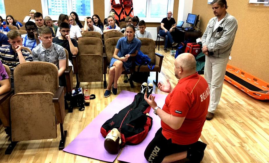 Волонтеры гродненского отряда Красного Креста будут работать на II Европейских играх