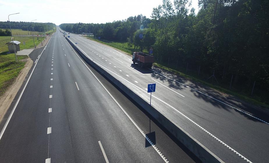 На трассе М6 открыли 30-километровый участок автомагистрали по четырем полосам
