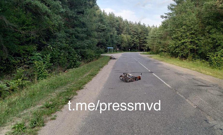 В Вороновском районе водитель легковушки сбил велосипедистку и скрылся. 58-летняя женщина погибла