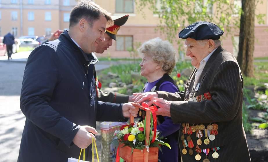 Юбилейные медали к 75-летию Великой Победы вручили ветеранам Великой Отечественной войны Валентине Барановой и Семену Подофёдову