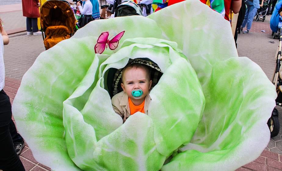 ФОТОФАКТ: В День семьи в Гродно прошел парад колясок