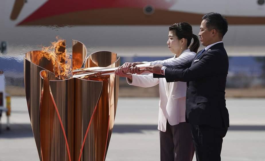 Эстафету олимпийского огня проведут без факела