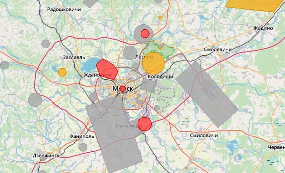 В Беларуси возросло количество зон, где нельзя использовать авиамодели