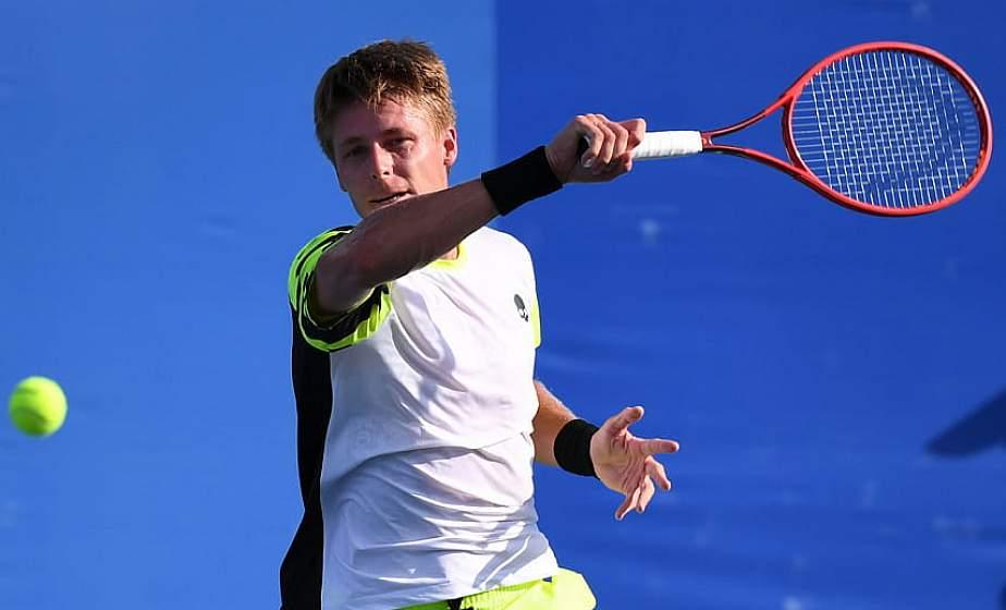 Илья Ивашко пробился в третий круг теннисного турнира на Олимпиаде