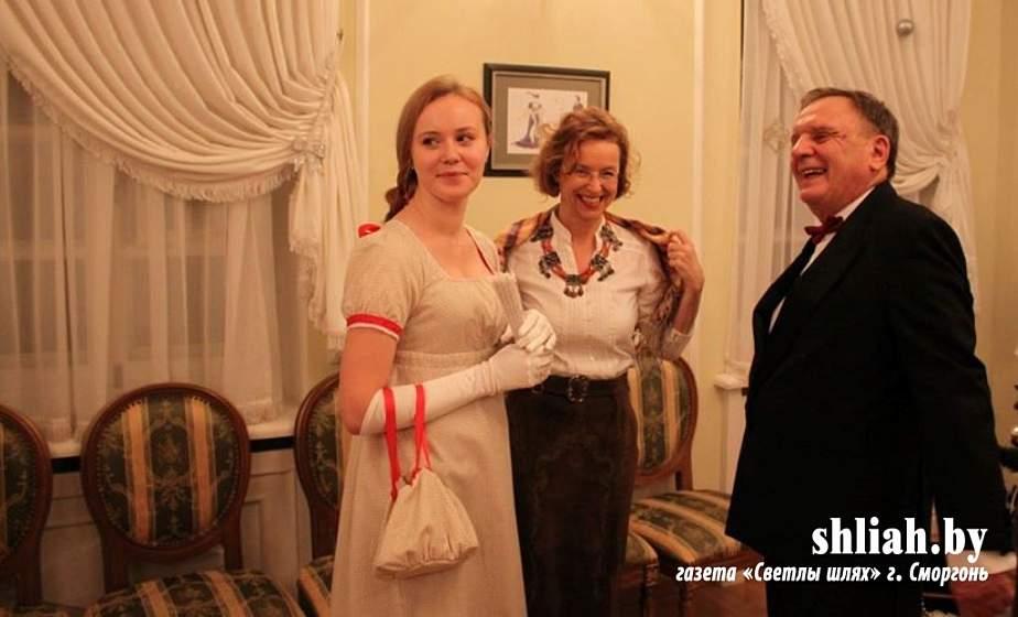 Рождественский бал-маскарад открыл бальный сезон в музее-усадьбе Михала Клеофаса Огинского