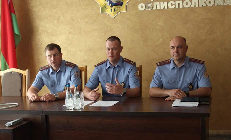 В Гродненской Госавтоинспекции представили нового начальника