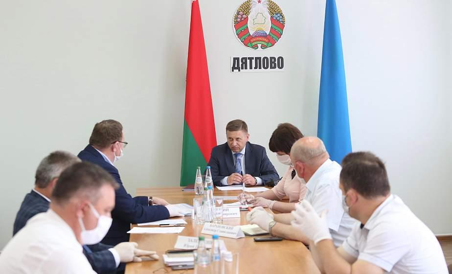 Иван Лавринович: «Службы ЖКХ должны более внимательно относиться к проблемам людей»