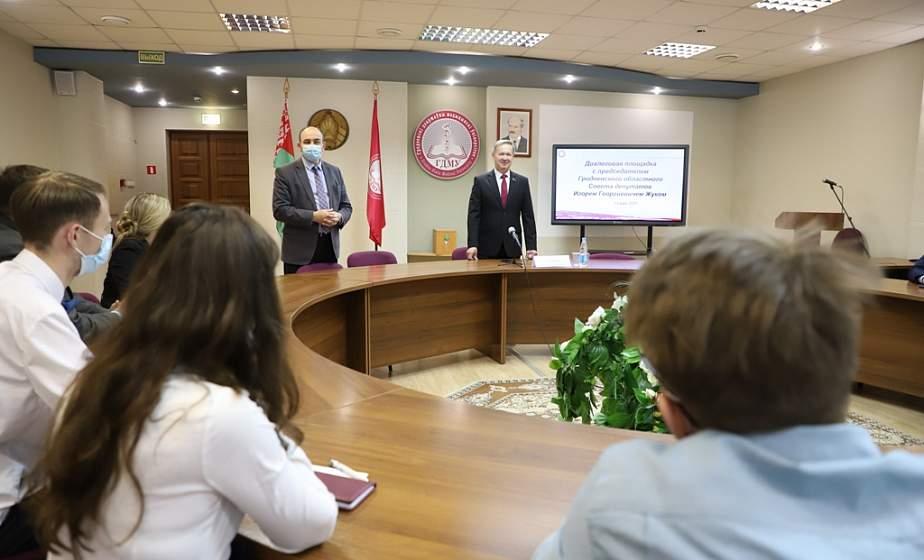 Игорь Жук: «Активная молодежь может рассчитывать на поддержку гражданских инициатив из бюджета»