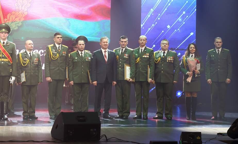 Торжественный вечер, посвященный Дню защитников Отечества и Вооруженных Сил Республики Беларусь, прошел в областной филармонии