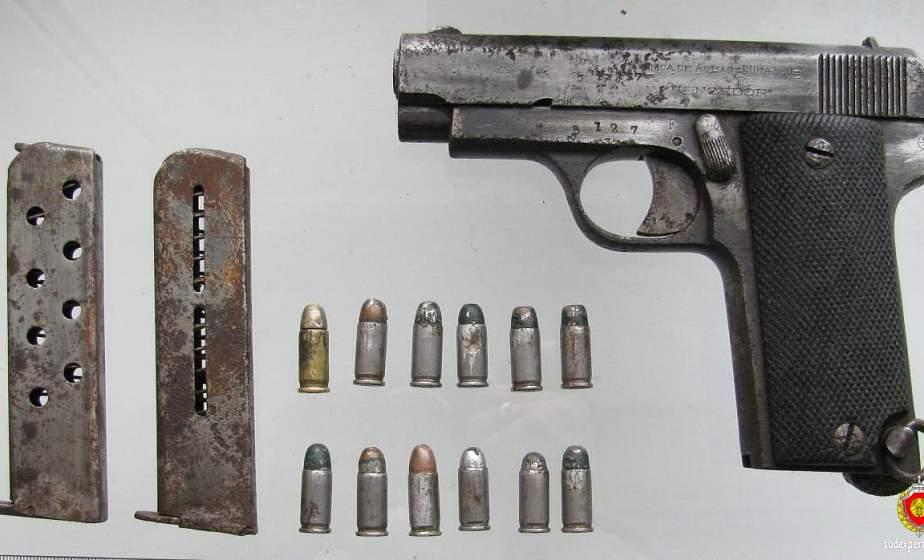 Уникальный испанский пистолет обнаружил на купленном участке житель Сморгони