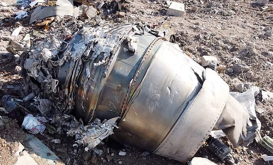 Расшифровка черных ящиков сбитого в Иране Boeing пройдет в Украине