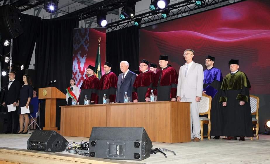 Награды, поздравления и слова благодарности. В ГГАУ прошло расширенное заседание Совета университета, посвященное 70-летию вуза
