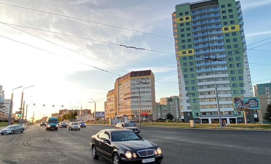 В Гродно открыли движение по обновленному участку проспекта Янки Купалы
