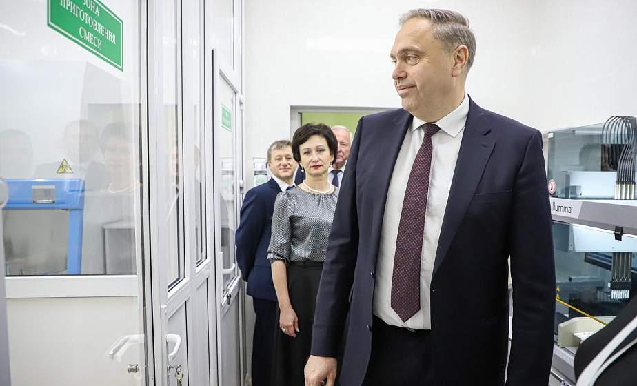 Развивать науку и образование. Председатель облисполкома Владимир Караник посетил научно-исследовательский центр инновационных технологий аграрного университета