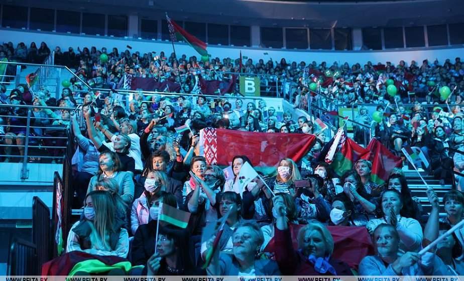 Женщины за Беларусь. Участницы республиканского форума в столице – о ценности государственной символики, мудрости народа и важности сохранения мира на родной земле