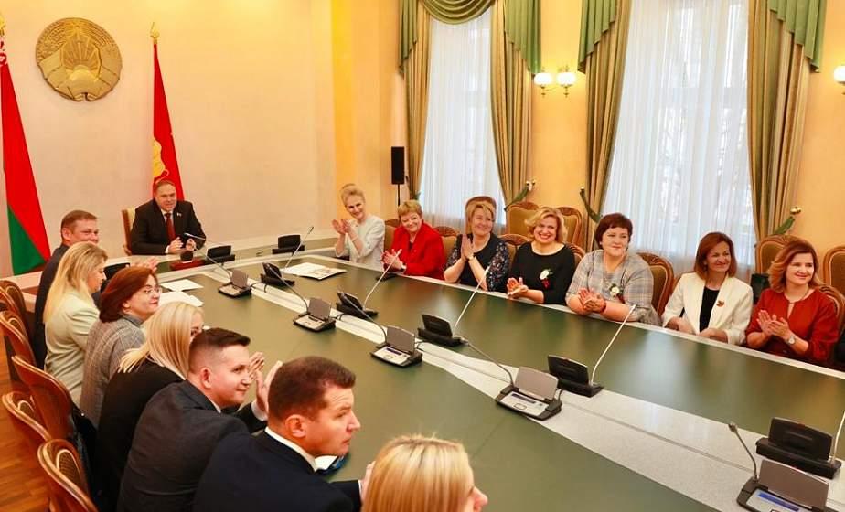 Учитель по призванию. В Гродно прошел торжественный прием ведущих педагогов области