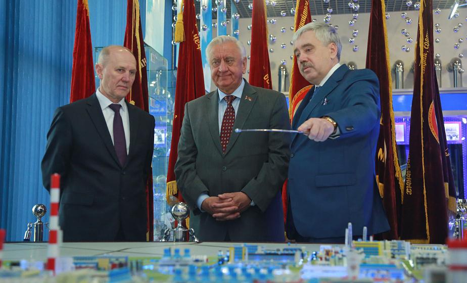 Собрание Гродненского областного союза нанимателей прошло на ОАО «Гродно Азот»