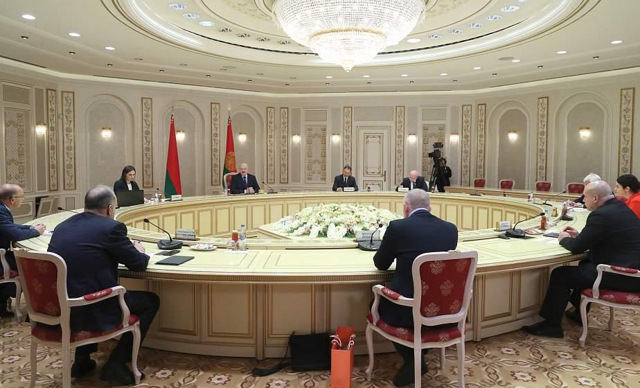 Тема недели: Встреча Александра Лукашенко с представителями украинских СМИ