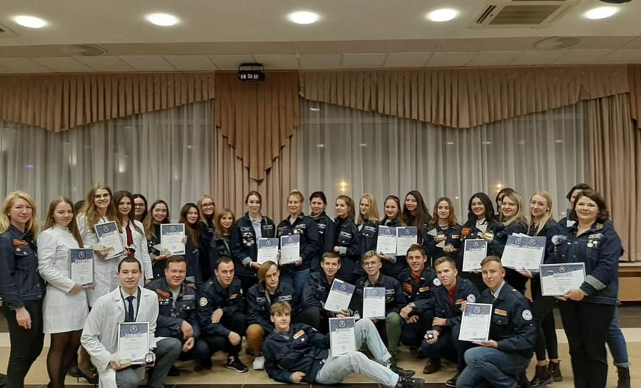 Гродненский областной штаб студенческих отрядов ОО «БРСМ» признан лучшим в Беларуси