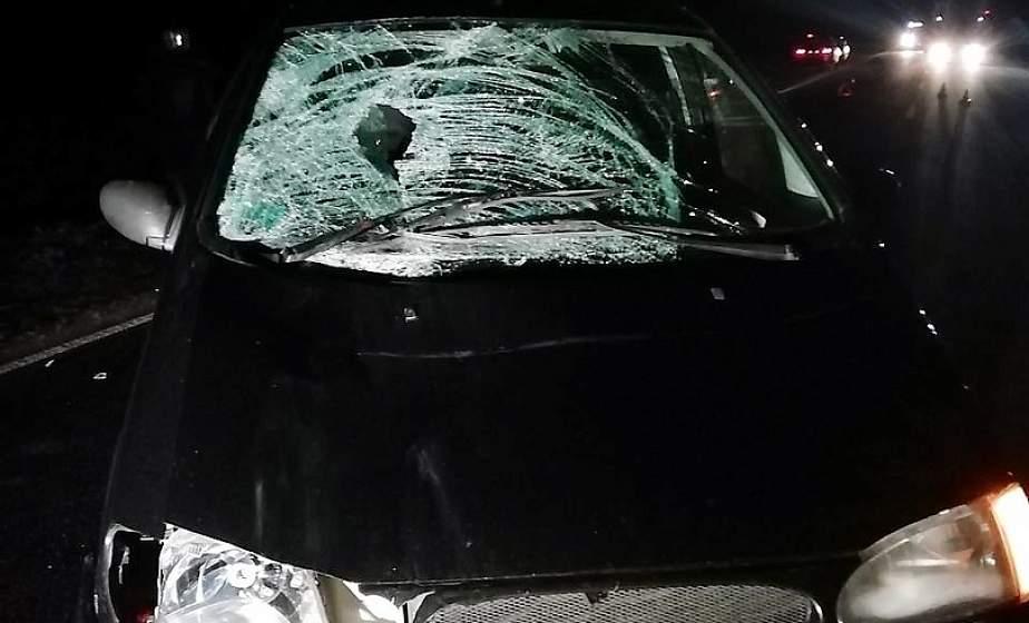 В Дятловском районе автомобиль насмерть сбил пешехода